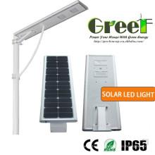 Lampe solaire à LED de 50W pour Street avec Timer et commande vocale