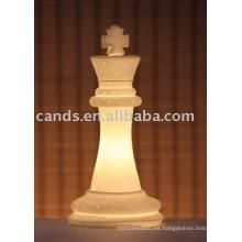 Lámpara eléctrica de cerámica de la decoración de la tabla de la porcelana
