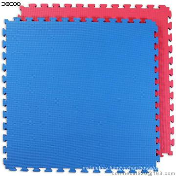 T Pattern Purple Green Color Eva Taekwondo Mat