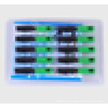 Connecteur rapide Fibre optique SC / APC avec 10pieces par paquet