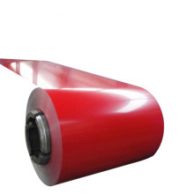 Bobina de aluminio recubierta de color