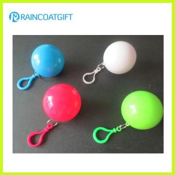 Promotional Gift Plastic Ball Raincoat Rvc-075
