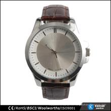 Reloj clásico de acero inoxidable con su logotipo personalizado relojes de hombre