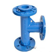 Pièce de valve de porte de bride de fonte