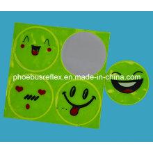 Etiqueta de segurança de sorriso certificada CE da cara