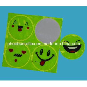 Etiqueta engomada sonriente de la seguridad de la cara del CE