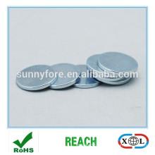 zinc plaqué 2 mm aimant de ndfeb