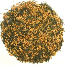 Green tea (genmaicha)