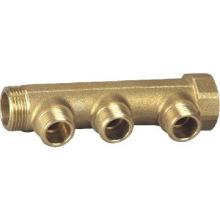 Brass three water segregator fitting/brass fittings (D01017)
