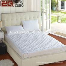 Billig Großhandel Polyester Faser Füllung Weiß Gesteppten Matratze Beschützer