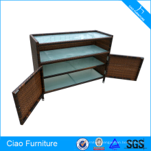 Rattan Locker Restaurant Used Cabinet