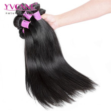 Top Quality Unprocessed Peruvian Straight Virgin Hair