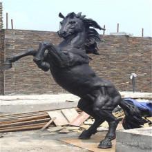 Heiße verkaufende bockende Pferdestatue (Lebensgröße in Bronze) mit niedrigem Preis