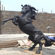 Hot selling bucking Horse Statue(Bronze life size) with low price