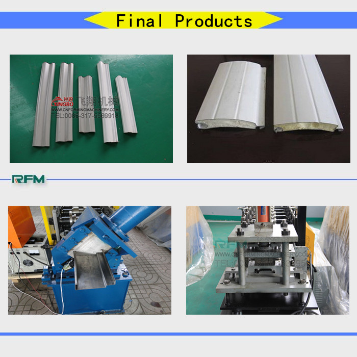 frame steel shutter forming equipment