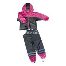 Children PU Waterproof Rain Suit