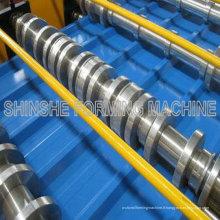 Machines de roulement pour toiture en métal couleur