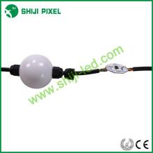 O rgb de 50mm & de 35mm conduziu a luz conduzida profissional dmx da corda rgb do dmx da bola do pixel