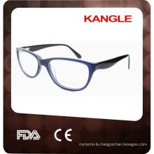 2017 new stylish handmade acetate eyeglass frame for women