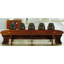 office furniture china 10 person oval wood conference table