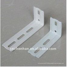 89mm e 127 milímetros de metal cortina suporte de parede de haste para cortinas verticais blinds verticais componente acessórios de cortina vertical
