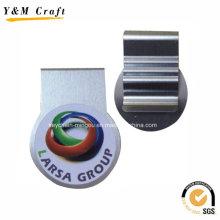Silber Stahl Metall Buch Halter Clip für Promotion Ym1199