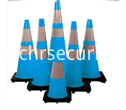 CE approved 1meter PVC red color traffic cone