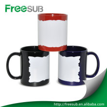 11OZ patch digital sublimation customized mugs printing
