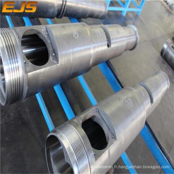 PVC plastique machine baril/extrudeuse conique double vis Canon