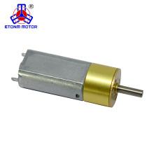 Низкий уровень шума 15 мм DC мотор-редуктор с мини-редуктор для робота