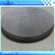 Malha sinterizada com precisão de filtração uniforme e confiável