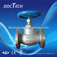 Válvula de Control de globo de acero inoxidable brida