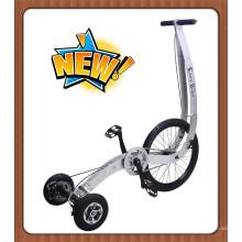 Bicicleta das crianças do equilíbrio de três rodas