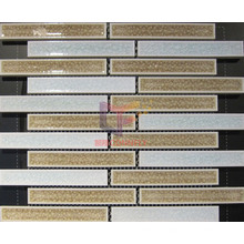 Mixed Color Strip Ceramic Made Mosaic Tiles (CST156)