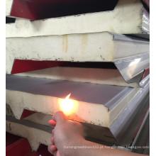 Heat Presevation PU sanduíche Decoração do painel Material de Construção