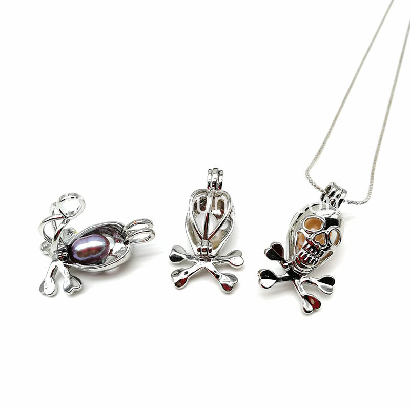 Skull Pendant Necklace For Women And Men