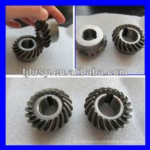 Изготовленная на заказ спиральн конического зубчатого колеса