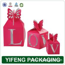 Pink Box for Wedding Gift (YF-258)