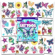 2018 new hot sale cheap body beauty non-toxic carton tattoo sticker