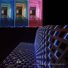 Iluminação de LED moderno de quadro de janela de edifício de feixe estreito