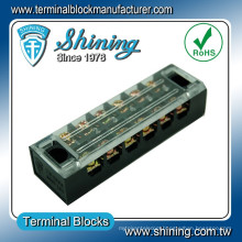 TB-2506L Panel Mounted With Cover 25A Input Output Terminal Strip