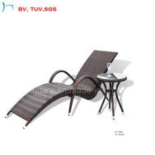 Chaise longue extérieure moderne avec la table d'appoint (CF1007)