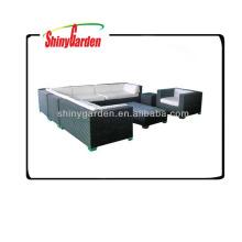 rattan/wicker corner sofas,l shaped rattan sofa sets,rattan luxury sofas outdoor furniture