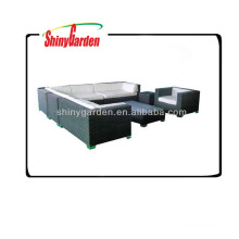 ротанг/wicker диваны угловые,L-образный диван ротанга,ротанга роскошный диваны мебель на улице