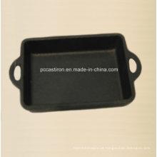 Mini panela de ferro fundido pré-temperado