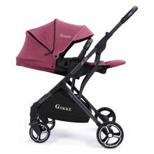 Estrutura de alumínio leve e resistente Good Bebe carrinho de bebê com rodas de PU