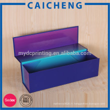 Boîtes en carton ondulé vin / cadeau