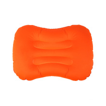New product upgraded inflating cushion for travel plane sleeping inflatable pillow