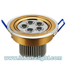 5W Aluminum led spotlight led ceiling spotlights