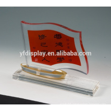 clear acrylic A4 paper weight gsm with base holder
